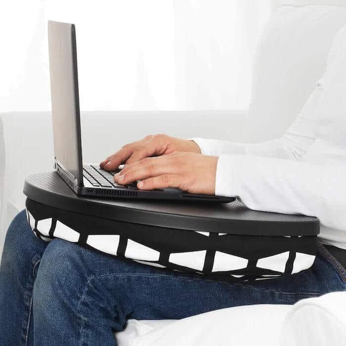 BYLLAN laptop tartó ágyba